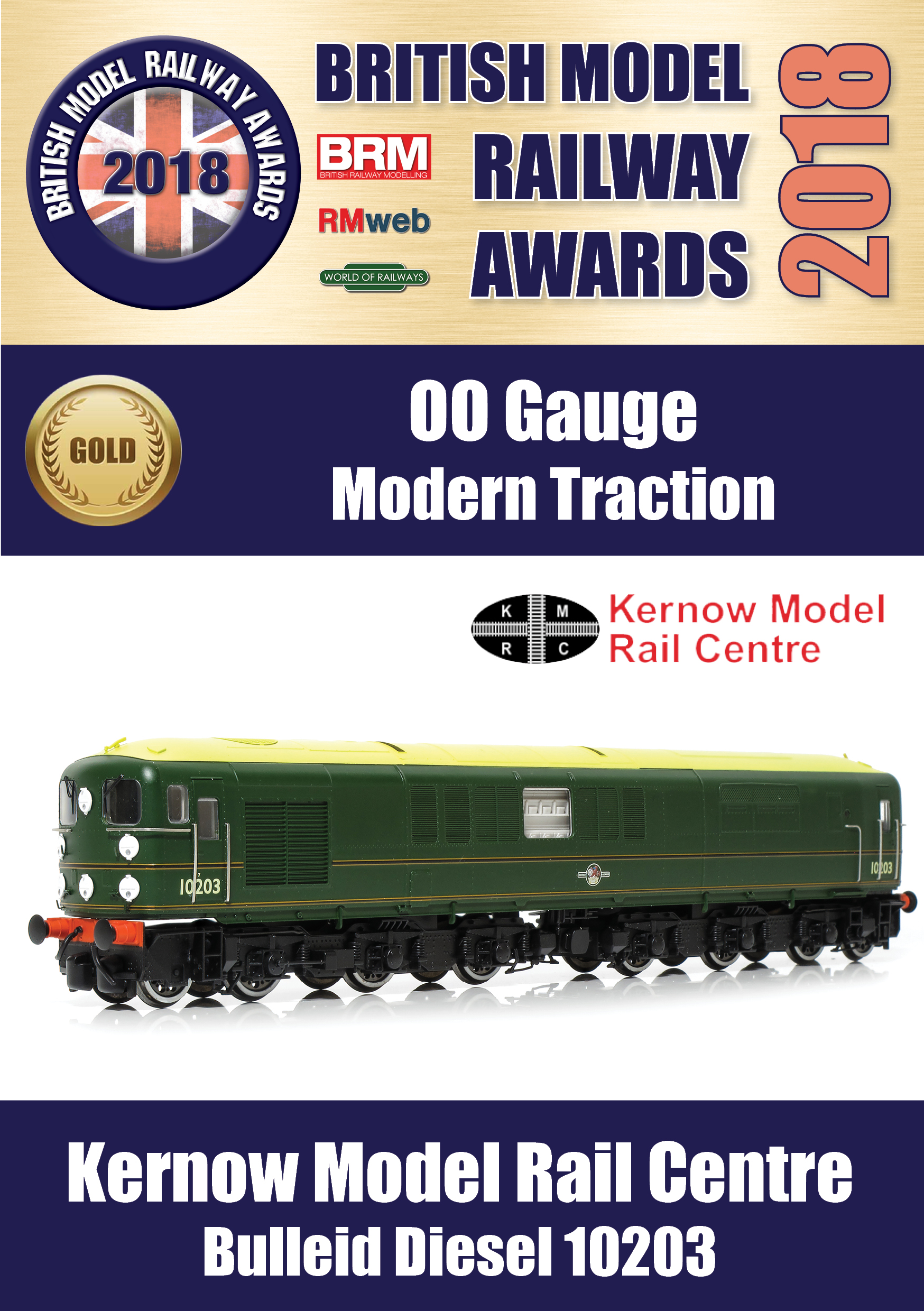 Bulleid Diesel Model of the Year