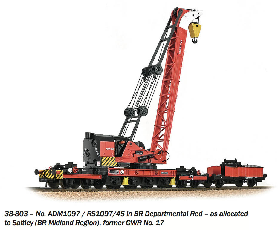 Ransomes and Rapier Crane