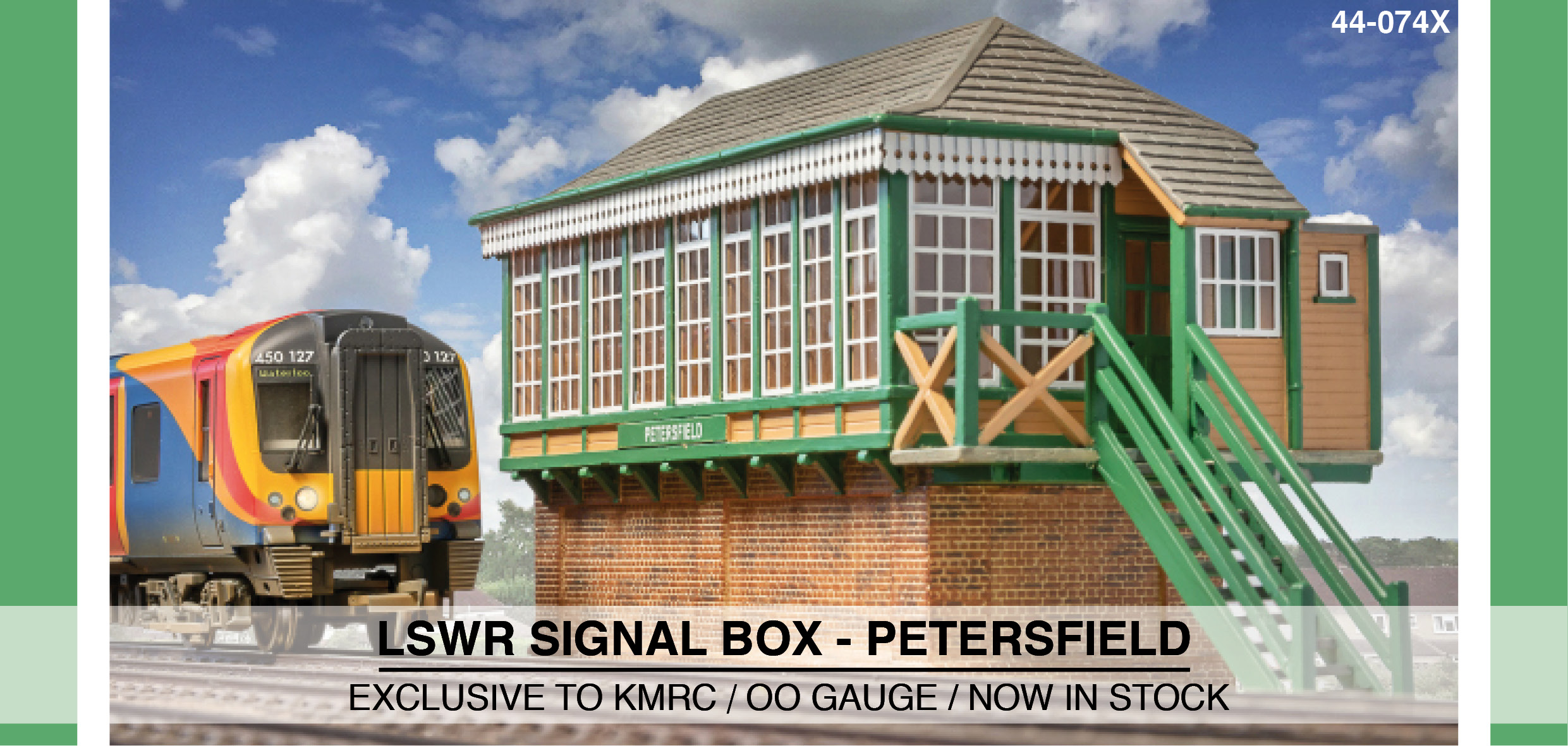 LSWR Petersfield Signal Box Image