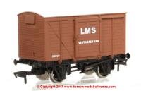 4F-011-017 Dapol Ventilated Van number 155005 in LMS Bauxite livery