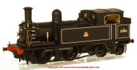 K2103 DJ Models 0-4-4T O2 Steam Locomotive number 30182 in BR Black livery with early emblem and fitted with push-pull equipment