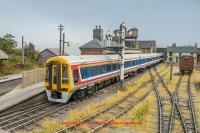 31-520 Bachmann Class 159 3 Car DMU number 159 013 in Network SouthEast livery
