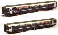 156-114 Realtrack Models Class 156 2 Car Sprinter DMU number 156 467 in First ScotRail Barbie livery