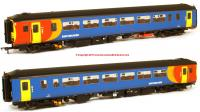 156-116 Realtrack Models Class 156 2 Car Sprinter DMU number 156 473 in East Midlands Trains livery
