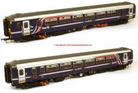 156-117 Realtrack Models Class 156 2 Car Sprinter DMU number 156 453 in First ScotRail Barbie livery