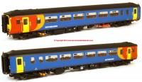 156-118 Realtrack Models Class 156 2 Car Sprinter DMU number 156 410 in East Midlands Trains livery