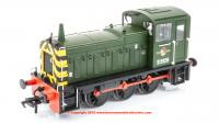 31-361B Bachmann Class 03 Diesel Shunter number D2028 in BR Green livery with Wasp Stripes