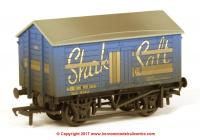 33-179B Bachmann 10 Ton Covered Salt Wagon number 168 - Shaka Salt - weathered