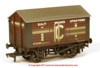 33-186 Bachmann 10 Ton Covered Salt Wagon number 2528 - ICI Salt Works Stafford - weathered