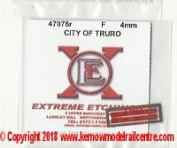 47076r Shawplan Extreme Etchings Name Plates - City of Truro