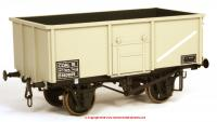 7F-030-005 Dapol 16t Steel Mineral Wagon Diagram 108 number B563829 in BR Grey livery