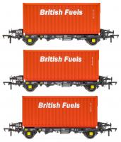 ACC2065BFLE Accurascale PFA - British Fuels Coal Containers Triple Pack E