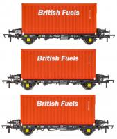 ACC2066BFLF Accurascale PFA - British Fuels Coal Containers Triple Pack F