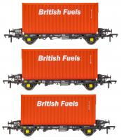 ACC2067BFLG Accurascale PFA - British Fuels Coal Containers Triple Pack