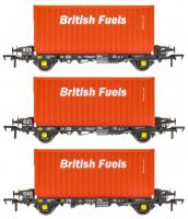 ACC2068BFLH Accurascale PFA - British Fuels Coal Containers H