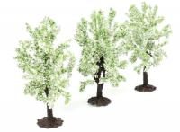 GM181 Gaugemaster Plum Trees in Blossom (Pack of 3) - Animals not included!