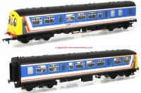 32-290DS Bachmann Class 101 2 Car DMU in Network SouthEast livery