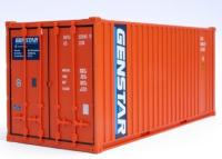 CR55 C Rail 20ft Container number GSTU 331065 in Genstar livery