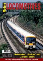 Magazine - Modern Locomotives Illustrated 223 - Networker Juniper and Javelin Stock