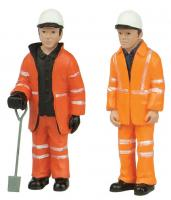 47-402 Bachmann Scenecraft Lineside Figures Pack B