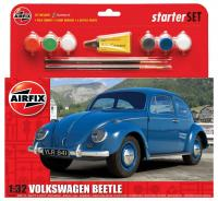 A55207 Airfix Red VW Beetle Starter Set