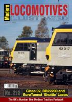 Magazine - Modern Locomotives Illustrated 213 - The Class 92, BB22200 and EuroTunnel Shuttle Locomotives
