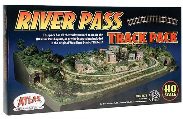 ST1184TP Woodland Scenics River Pass Track Pack