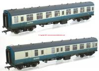 39-004 Bachmann MK1 Coach Pack BR blue & Grey ScotRail Weathered