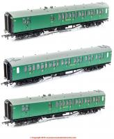 K9615A Hornby SR Bulleid Coach Pack Special Offer