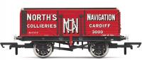 R6904 Hornby 7 Plank Wagon, 'North's Navigation' No. 3000