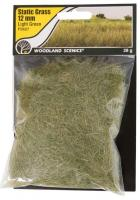 FS627 Woodland Scenics 12mm Static Grass Light Green