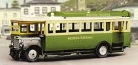 5133 Model Scene 1927 Maudslay ML3 Bus kit. Requires paint and adhesive to complete.