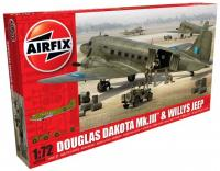 A09008 Airfix Douglas Dakota MkIII with Willys Jeep.