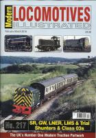 Magazine - Modern Locomotives Illustrated 217 - SR, GW, LNER, LMS, Trial and Class 03 Shunters